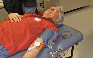 Most of us can afford to give up a pint of blood a few times a year. It's good for others and the donor.