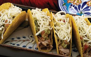 Crock Pot Picnic Pork Tacos