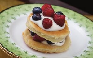 French Raspberry/Blueberry Josephines