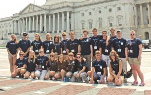 Michigan Co-op Students Tour D.C.