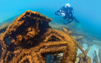 The West Michigan Underwater Preserve is our state's newest shipwreck preserve, and one of 14 on lakes Michigan, Huron and Superior.