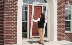 Sizing Up Storm Doors: A Variety of Options Can Fit Any Efficiency Need or Budget