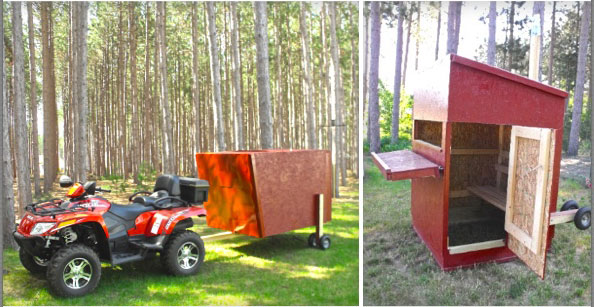 Deer Blind Contest Entries - Michigan Country Lines Magazine