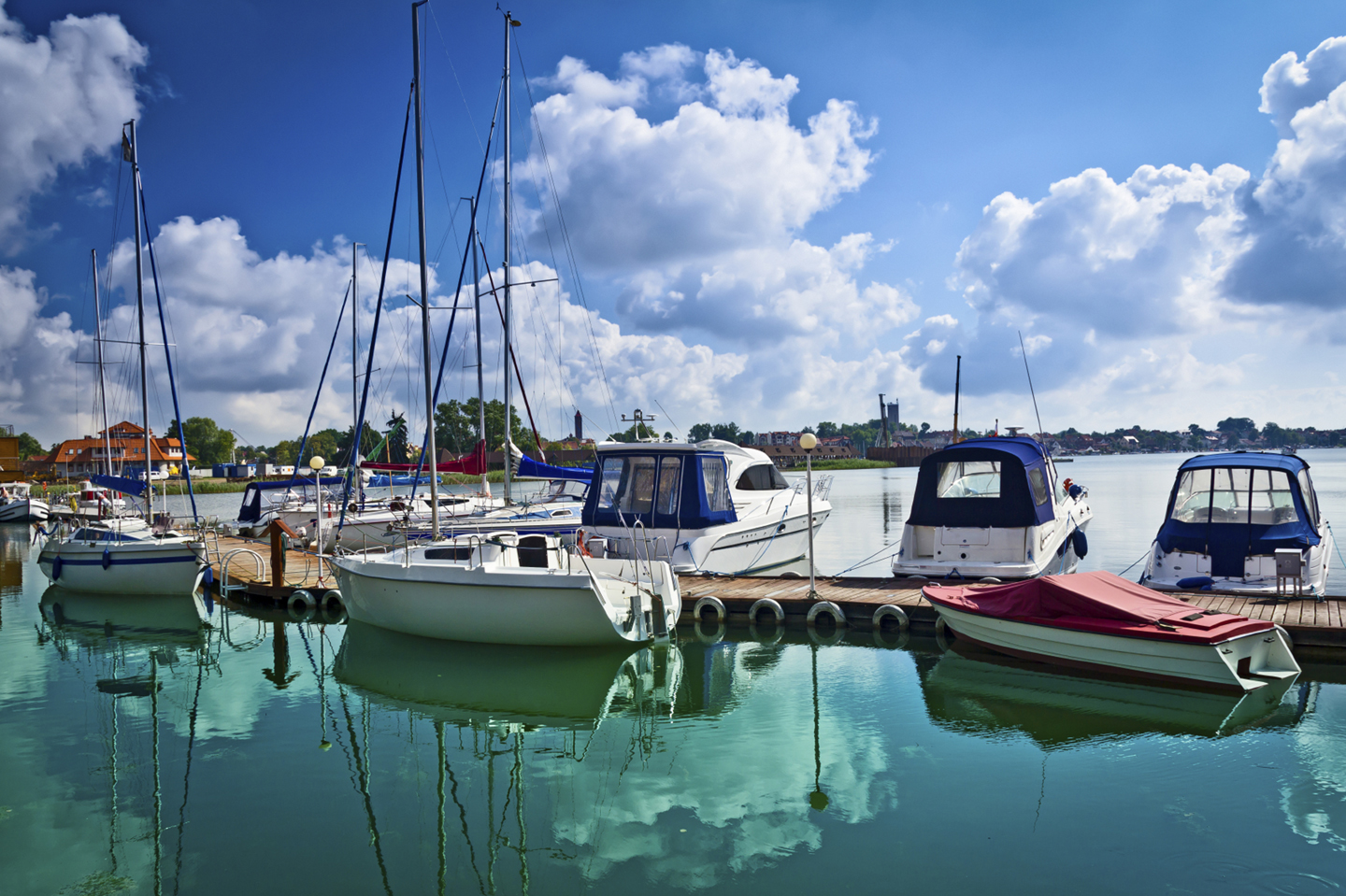Check Your Boat Dock And The Neighbor S Too Michigan Country Lines Magazine