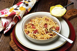 Pasta Bacon Toss