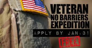Adventures For Rural Veterans – Apply By Jan. 31